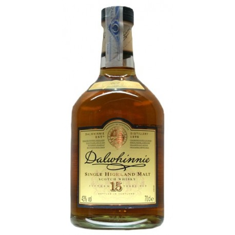 DALWHINNIE SINGLE HIGHLAND MALT WHISKY 15 AÑOS