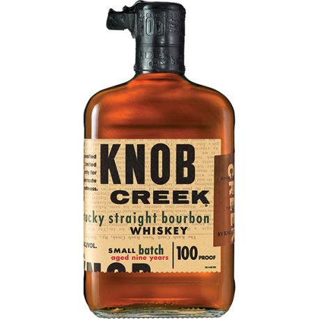 KNOB CREEK KENTUCKY STRAIGHT BOURBON WHISKEY