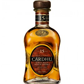 CARDHU SINGLE MALT SCOTCH WHISKY 15 AÑOS
