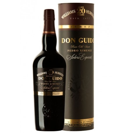 WILLIAMS & HUMBERT DON GUIDO PEDRO XIMÉNEZ SOLERA ESPECIAL 20 AÑOS V.O.S.