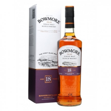 WHISKY BOWMORE 18 AÑOS