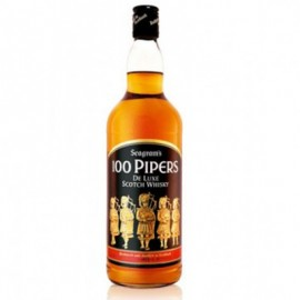 WHISKY SEAGRAM'S 100 PIPERS DE LUXE