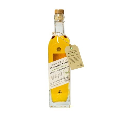 JOHNNIE WALKER BLENDERS´BATCH RUM CASK FINISH